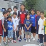 2007年8月 オーストリア・キャンプ(宮本恒靖 元日本代表キャプテン・ザルツブルグ所属)