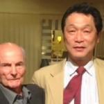 2014年1月 デットマール・クラマー氏と(日本サッカー界の父)