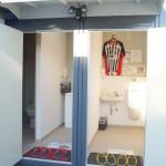 2016年12月 男女別屋外トイレ設置