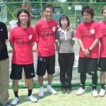 08'04 (右2番目)諸江剣語氏 バルドラール浦安