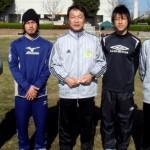 07'12 (左)西森 正明氏 遠藤真仁氏 ロアッソ熊本