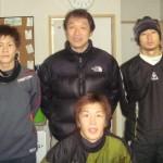 2009 1月 (右)岡本賢明氏 コンサドーレ札幌