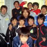 2008 12月 蒲田安啓氏 コンサドーレ札幌→ロアッソ熊本→琉球クラブ (中央)