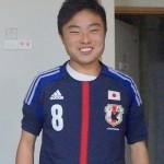 2014年4月 西本卓申 (日本代表U-17 )鹿島アントラーズユース)
