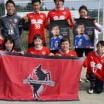 ロアッソ熊本レディース 週bに1回ガンバっています。2014年メンバー