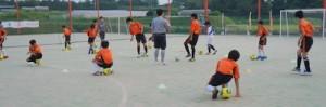 足元の練習