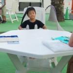 英会話スクール 金曜日大人と子供のスクールです。