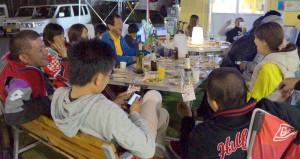 Open Cafe 一周年パーティ