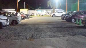 駐車場が広くなりました。