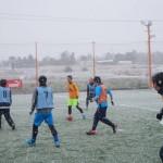 青年会議所 アクセルFC様 雪の中のfutsal