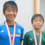 真輝・颯太 学童3位おめでとう!
