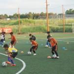 U-9 8月1ヶ月サッカースクール中