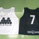 TRES JAPAN様からオリジナルビブスの協賛