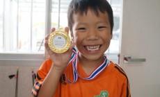 初めての金メダル(^^)/
