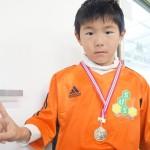 熊坂君 おめでとう TKU鶴屋カップ優勝メダル