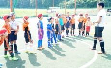 2017年7月夏季1日体験サッカースクール 低学年の部