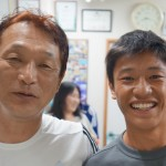 力斗君が訪ねてくれました。東海大星翔9番 高校総体1回戦:近江高(滋賀)