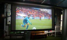 ワールドカップ観戦中