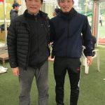 衛藤幹弥君 ロアッソ熊本29 遊びにきてくれました。