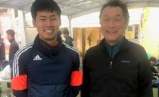 今吉晃平君が来てくれました。今年からJFLリーグ