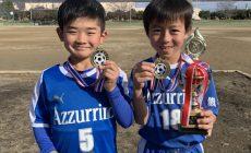 スクール生 山口かなと君 平澤とわ君 優勝おめでとう