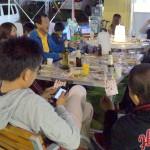 Open Cafe 一周年記念 最後にビンゴゲームで大盛り上がり!