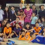 ブラジル報告会 & BBQ & サッカー