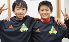 神代慶人君、宮崎天悠君 全日本県大会 優勝おめでとう!