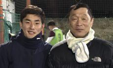 衛藤幹弥君が来てくれました。今季からJ3 鹿児島ユナイテッドFC